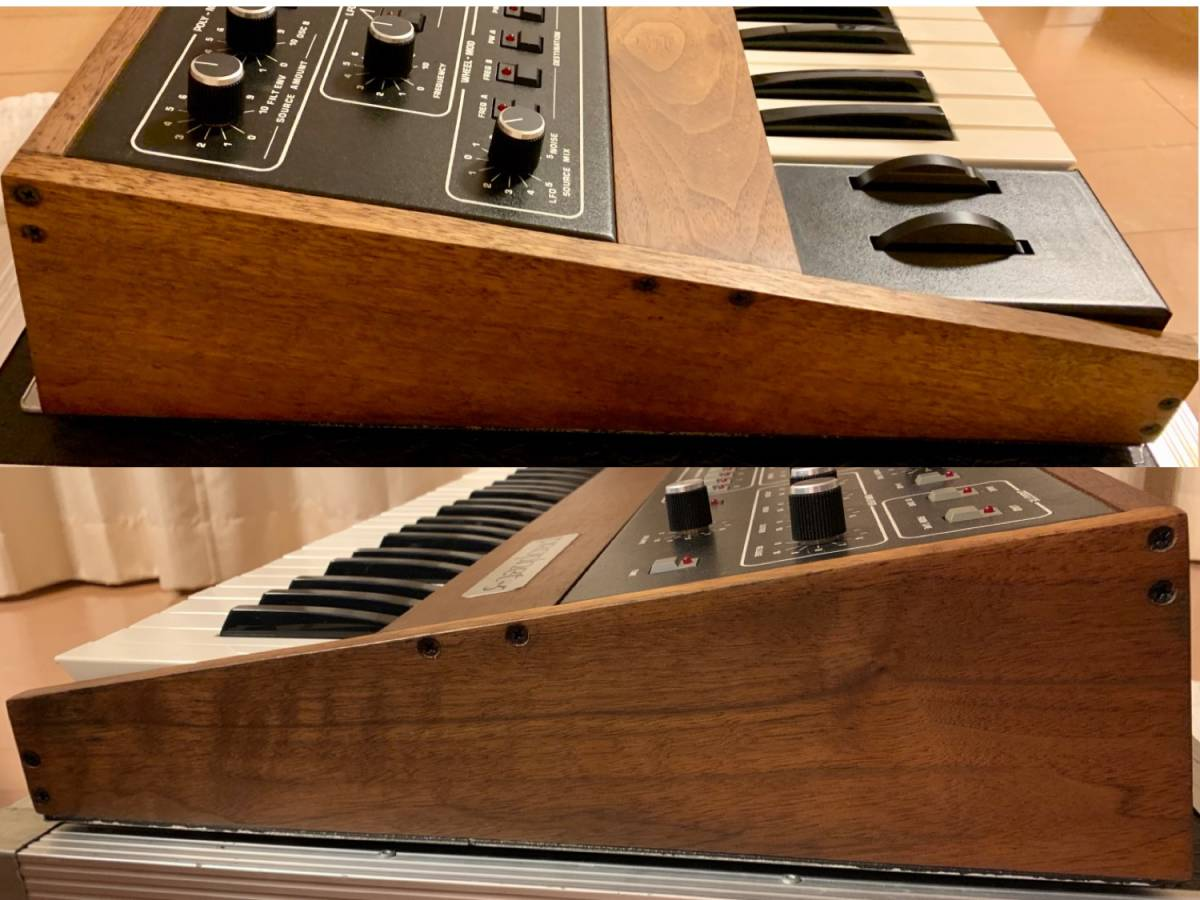 Sequential circuits Prophet 5 with MIDI and Duplex hard case_画像5