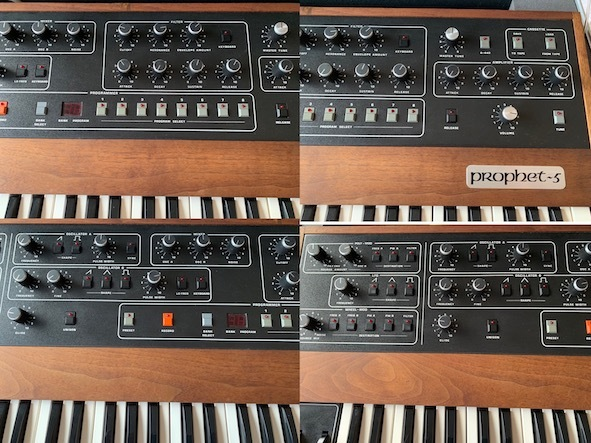Sequential circuits Prophet 5 with MIDI and Duplex hard case_画像3