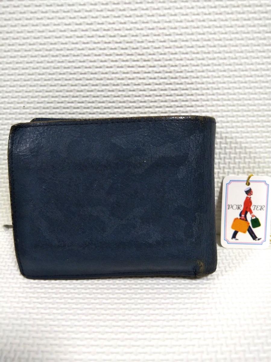 PORTER☆ポーター☆二つ折り革財布_画像10