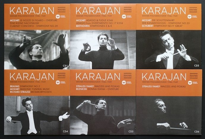CD/10枚組/新リマスター/カラヤン/ウラッハ/シュヴァルツコップ/ウィーン・フィル/ベートーヴェン/モーツァルト/Karajan/Beethoven/Mozart_画像4