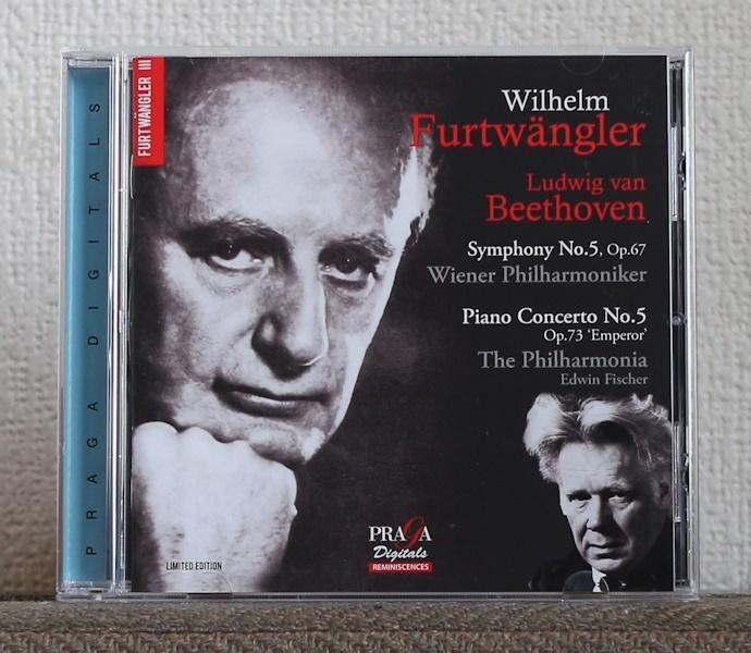 限定盤/CD/SACD/ベートーヴェン/フルトヴェングラー/エトヴィン・フィッシャー/皇帝/交響曲第5番/Beethoven/Furtwangler/Edwin Fischer_画像1