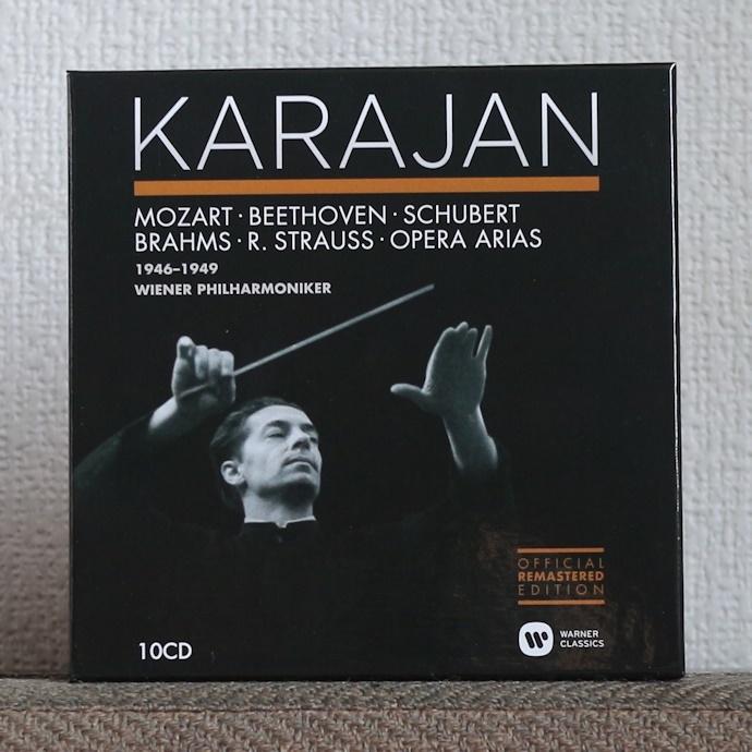 CD/10枚組/新リマスター/カラヤン/ウラッハ/シュヴァルツコップ/ウィーン・フィル/ベートーヴェン/モーツァルト/Karajan/Beethoven/Mozart_画像1