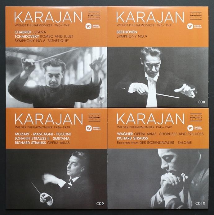 CD/10枚組/新リマスター/カラヤン/ウラッハ/シュヴァルツコップ/ウィーン・フィル/ベートーヴェン/モーツァルト/Karajan/Beethoven/Mozart_画像5