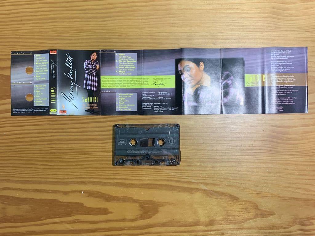 Ermy Kullit「Sendri」カセットテープ Indonesia Urban Pops / Titiek Puspa + Ireng Maulana 参加 80's 90's RARE!!_画像4
