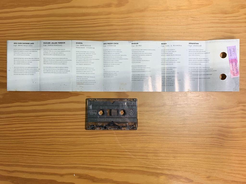 Ermy Kullit「Sendri」カセットテープ Indonesia Urban Pops / Titiek Puspa + Ireng Maulana 参加 80's 90's RARE!!_画像5