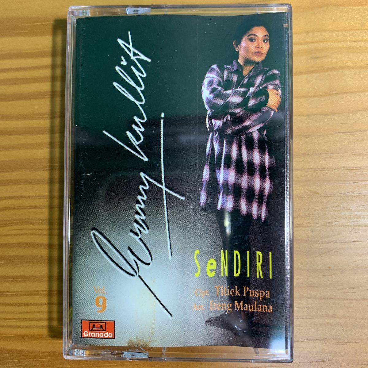 Ermy Kullit「Sendri」カセットテープ Indonesia Urban Pops / Titiek Puspa + Ireng Maulana 参加 80's 90's RARE!!_画像1