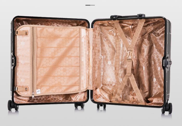 限定版※貴重※アルミマグネシウム合金・軽量/静音・強い耐圧/小型・TSAロック搭載スーツケース・キャリーケース※ 18インチ 色選択可SL108_画像2