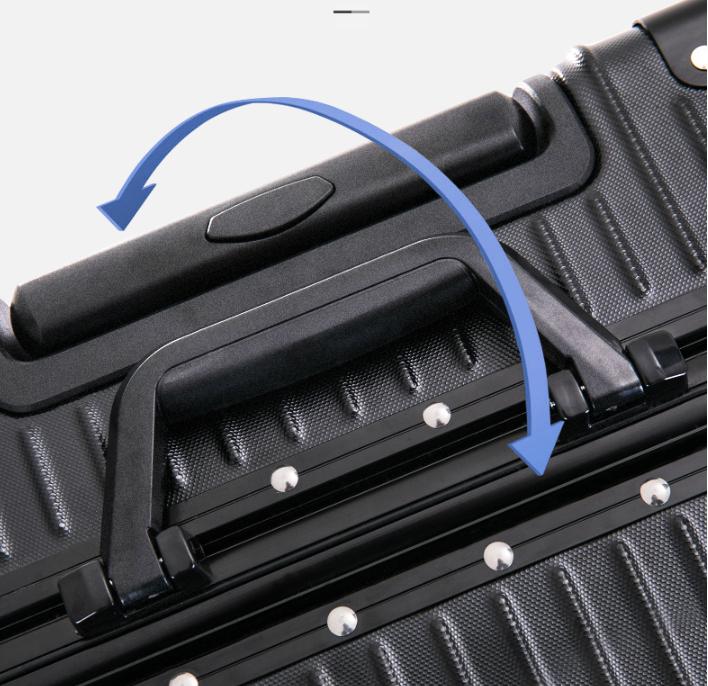 限定版※貴重※アルミマグネシウム合金・軽量/静音・強い耐圧/小型・TSAロック搭載スーツケース・キャリーケース※ 18インチ 色選択可SL108_画像10