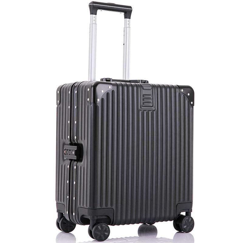 限定版※貴重※アルミマグネシウム合金・軽量/静音・強い耐圧/小型・TSAロック搭載スーツケース・キャリーケース※ 18インチ 色選択可SL108_画像3