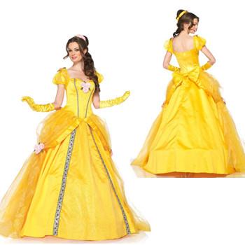 プリンセスドレス レディース ベル | コスチューム コスプレ 大人用 衣装 大人 ドレス ハロウィン プリンセス 仮装 ワンピース