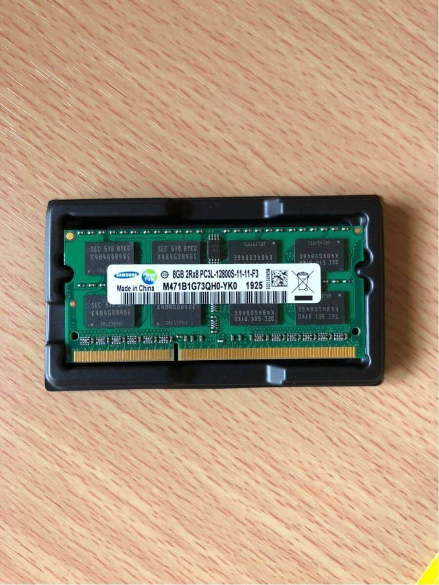 1円~8GB 新品 未開封 Samsung DDR3 1600MHz PC3L-12800S SODIMM 204pin ノートPC メモリ_画像3