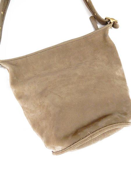 古着 バッグ USA製 OLD COACH コーチ 本革 レザー バケツ型 ショルダー バッグ 中型 雑貨 古着_画像3