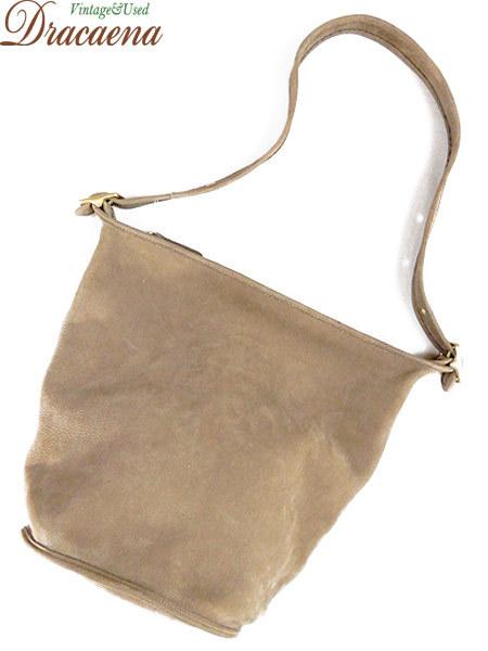 古着 バッグ USA製 OLD COACH コーチ 本革 レザー バケツ型 ショルダー バッグ 中型 雑貨 古着_画像1