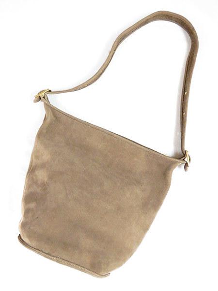 古着 バッグ USA製 OLD COACH コーチ 本革 レザー バケツ型 ショルダー バッグ 中型 雑貨 古着_画像2