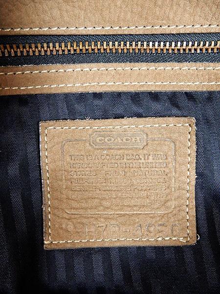 古着 バッグ USA製 OLD COACH コーチ 本革 レザー バケツ型 ショルダー バッグ 中型 雑貨 古着_画像6