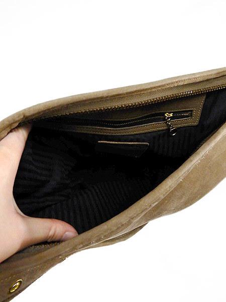 古着 バッグ USA製 OLD COACH コーチ 本革 レザー バケツ型 ショルダー バッグ 中型 雑貨 古着_画像5