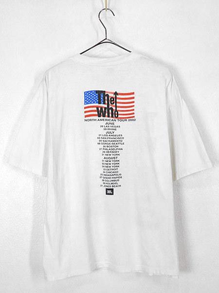 古着 Tシャツ 00s THE WHO 伝説 「North American Tour」 ツアー ロック バンド Tシャツ L 古着_画像3