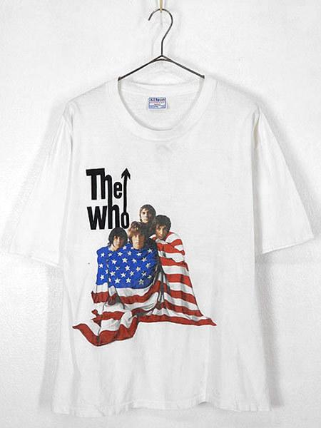 古着 Tシャツ 00s THE WHO 伝説 「North American Tour」 ツアー ロック バンド Tシャツ L 古着_画像2