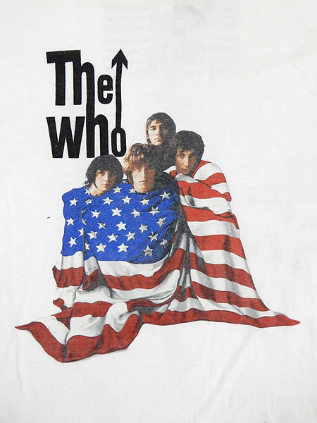 古着 Tシャツ 00s THE WHO 伝説 「North American Tour」 ツアー ロック バンド Tシャツ L 古着_画像4
