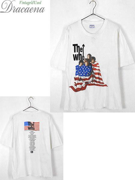 古着 Tシャツ 00s THE WHO 伝説 「North American Tour」 ツアー ロック バンド Tシャツ L 古着_画像1