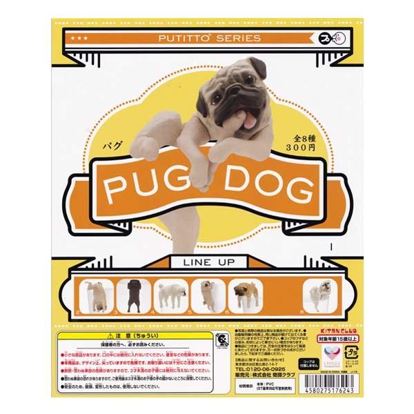 プティットシリーズ パグ PUTITTO SERIES PUG DOG 7種セット(再販) 奇譚クラブ ガチャポン ガシャポン デスクトップ フィギュア_画像1