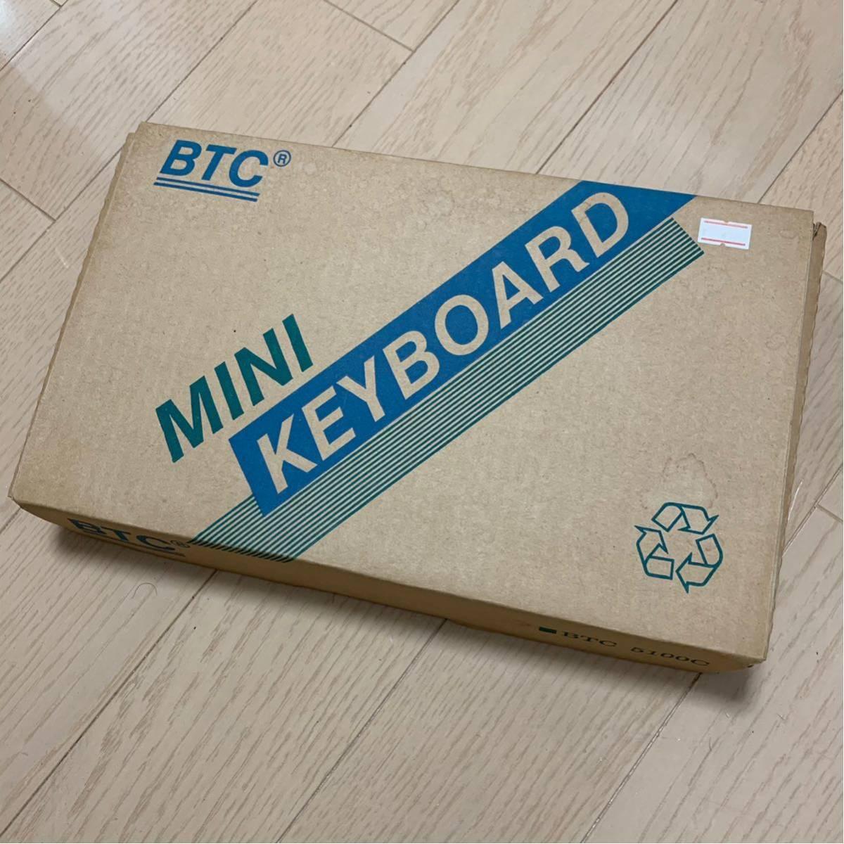 BTC-5100C happy hacking keyboardのようなこだわりの101レイアウトの英語キーボード 日焼けあり