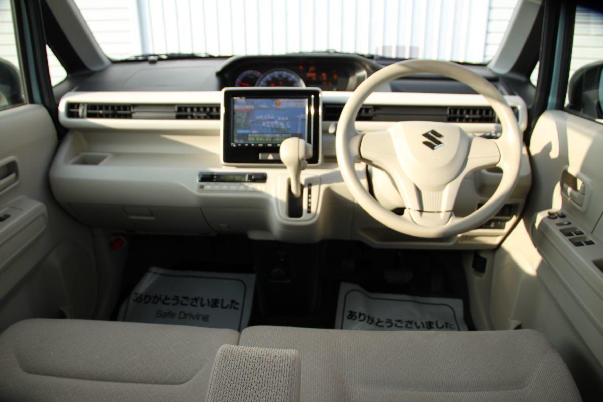 ハイブリットFXセーフティーパッケージ 360度全方位モニター ワゴンR 名義変更無料 レーダーブレーキ 決算大セール ナビ 地デジ ETC