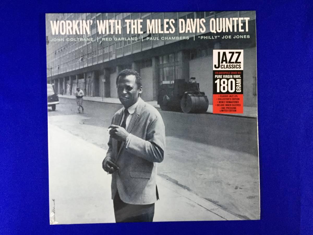 未開封/EU盤/ワーキン・ウィズ・ザ・マイルス・デイヴィス・クィンテット/Workin' With the Miles Davis Quintet/1LP/新品/美品/_画像1