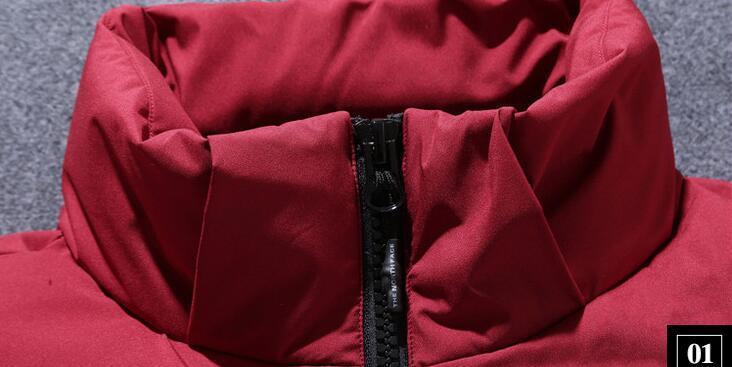 秋冬2019新作 装備 高密度 ホワイトダックダウン メンズ ァッショ 厚い暖か ジャケットM-3XLサイズ選択_画像4