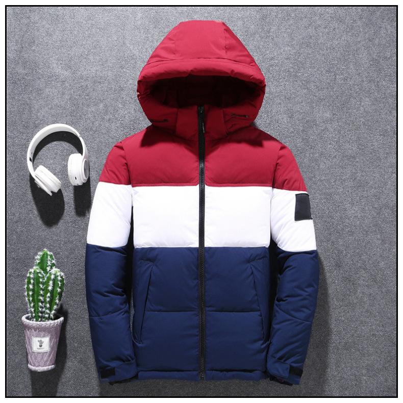秋冬2019新作 装備 高密度 ホワイトダックダウン メンズ ァッショ 厚い暖か ジャケットM-3XLサイズ選択