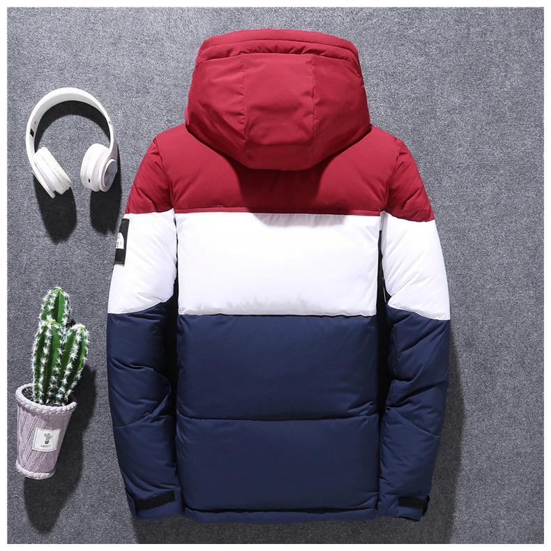 秋冬2019新作 装備 高密度 ホワイトダックダウン メンズ ァッショ 厚い暖か ジャケットM-3XLサイズ選択_画像7