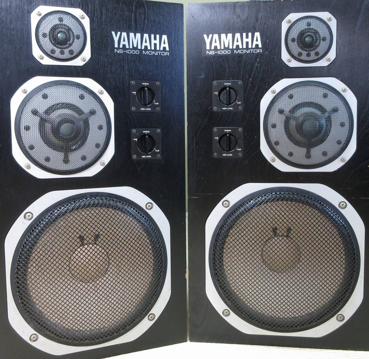 YAMAHA NS-1000M MONITOR スピーカー ペア ヤマハ 北海道引取限定か落札者様による配送会社の手配_画像5