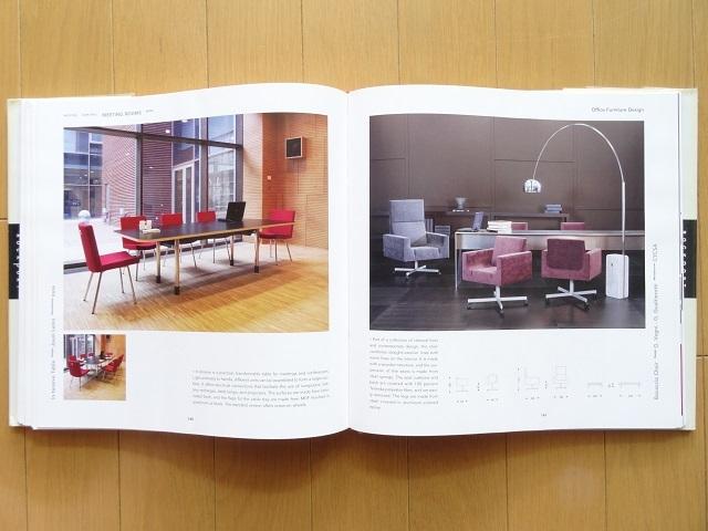 洋書◆オフィスの家具デザイン写真集 本 デスク 机 チェア 椅子 インテリア 事務所_画像4