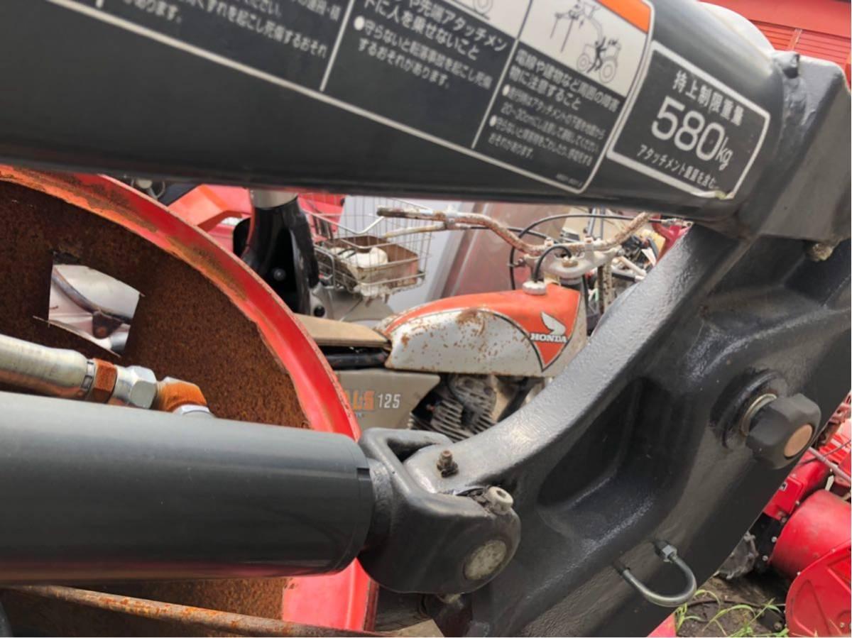 お得 クボタ グレイタスローダ 580kg 美品 トラクター ローダー_画像3