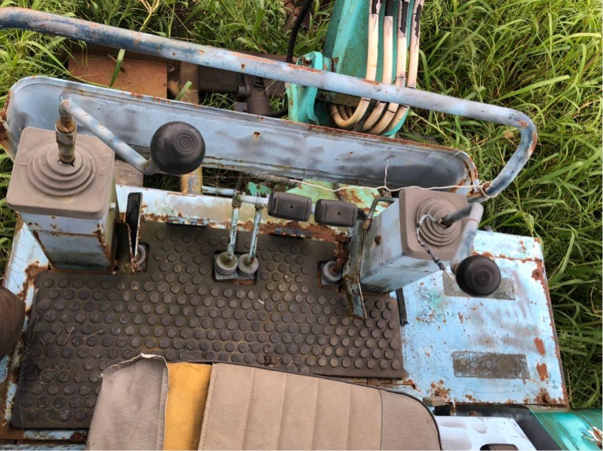 「コベルコ sk024 ユンボ 動作確認済み 油圧ショベル ミニユンボ」の画像3