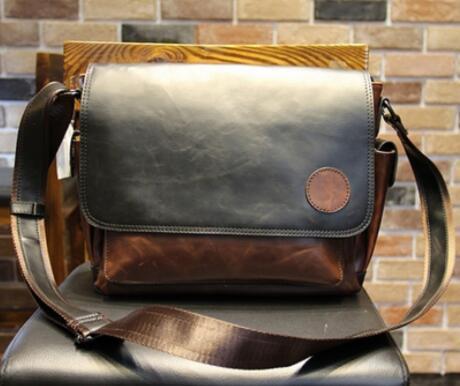 【定価26万】貴重上層牛革100%ショルダーバッグ 斜め掛け スリングバッグ ビジネスバッグ 書類かばん メンズビジネスバッグ