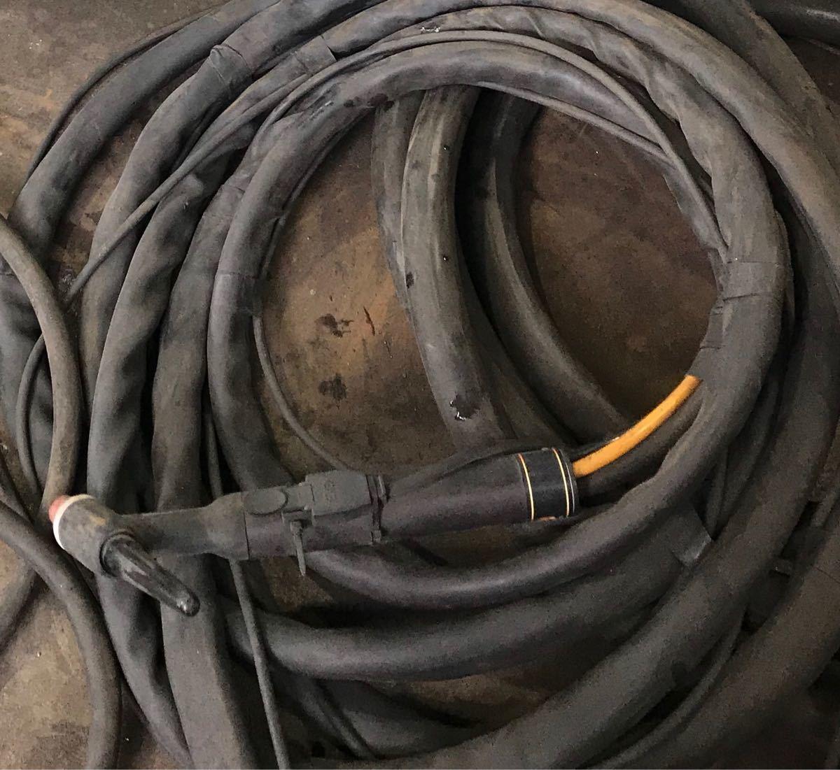 ダイヘン TIG溶接機☆交直両用☆水冷装置付き(マツモト機械製)☆2005年式☆PULSE COMPA 500P_画像4