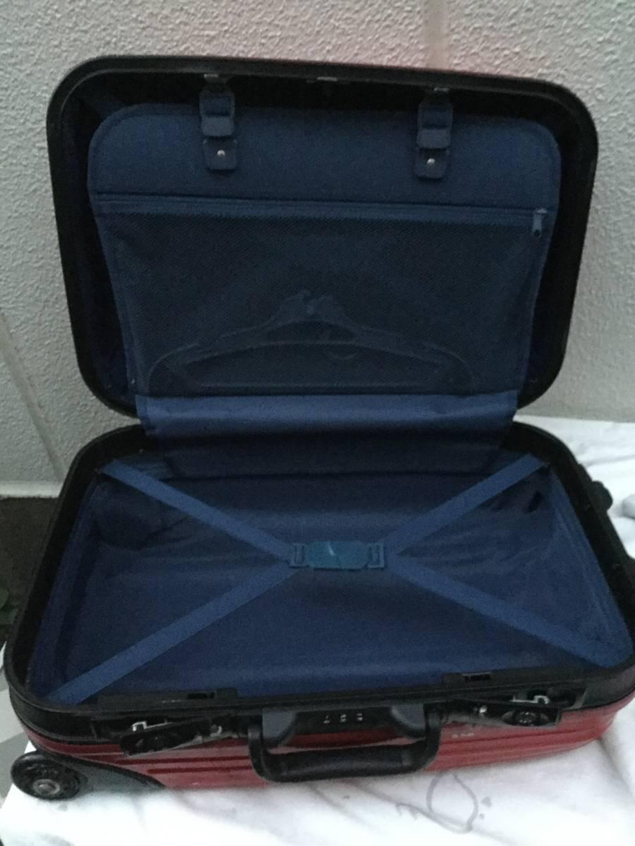 赤いキャリーケース スーツケース_画像5