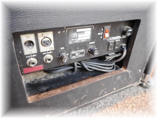 SP7836 JVC ビクター PAスピーカー パワードスピーカー SS-P60 ペア_画像9