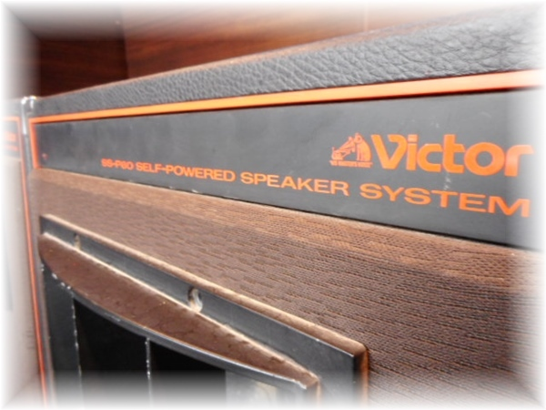 SP7836 JVC ビクター PAスピーカー パワードスピーカー SS-P60 ペア_画像5