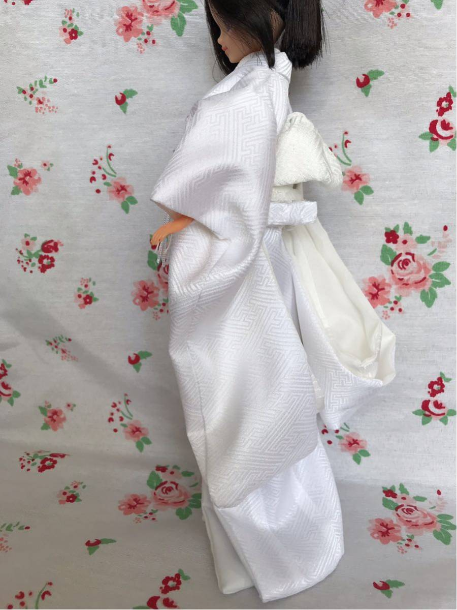 ジェニー サイズ 着物 色打掛 花嫁衣装 ハンドメイド 1/6ドール 少し訳あり_画像5