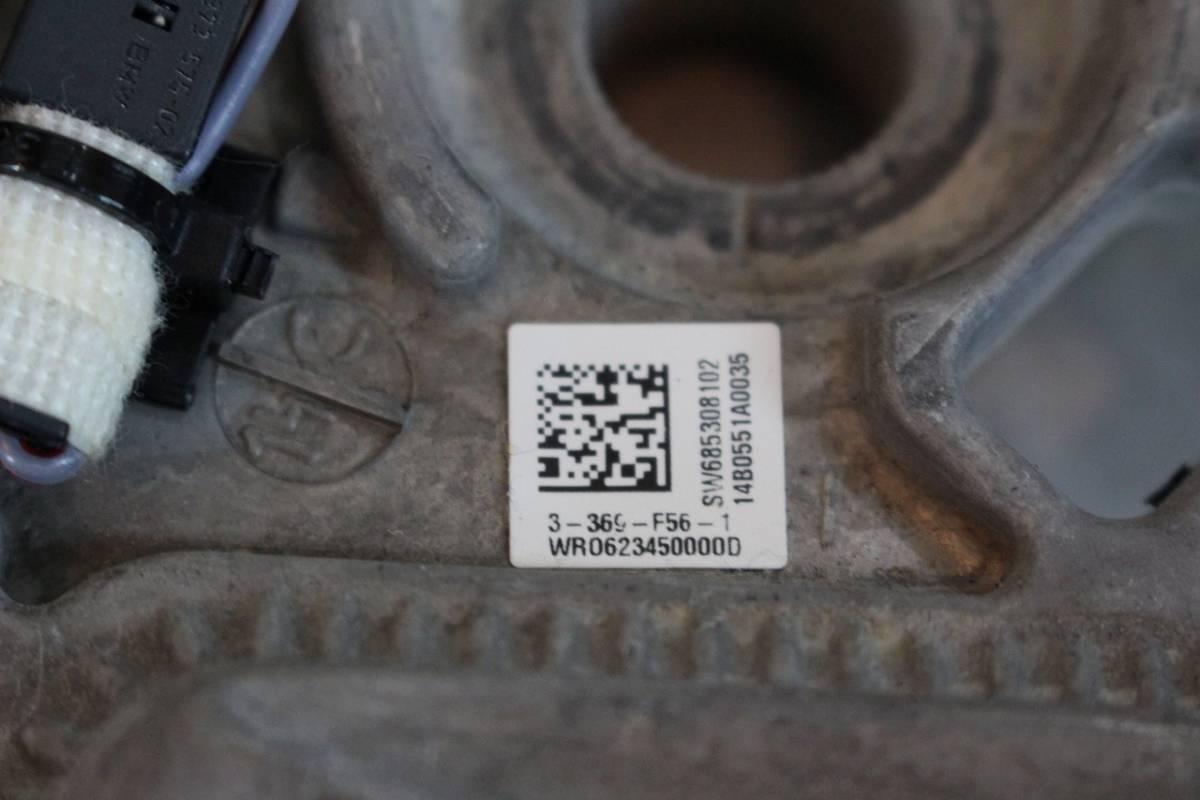 ★中古希少★ BMW MINI F60 クロスオーバー 純正 レザー ステアリング ハンドル MINI ミニ クーパー F56 内装 インテリア F54 F55 F57 _画像6