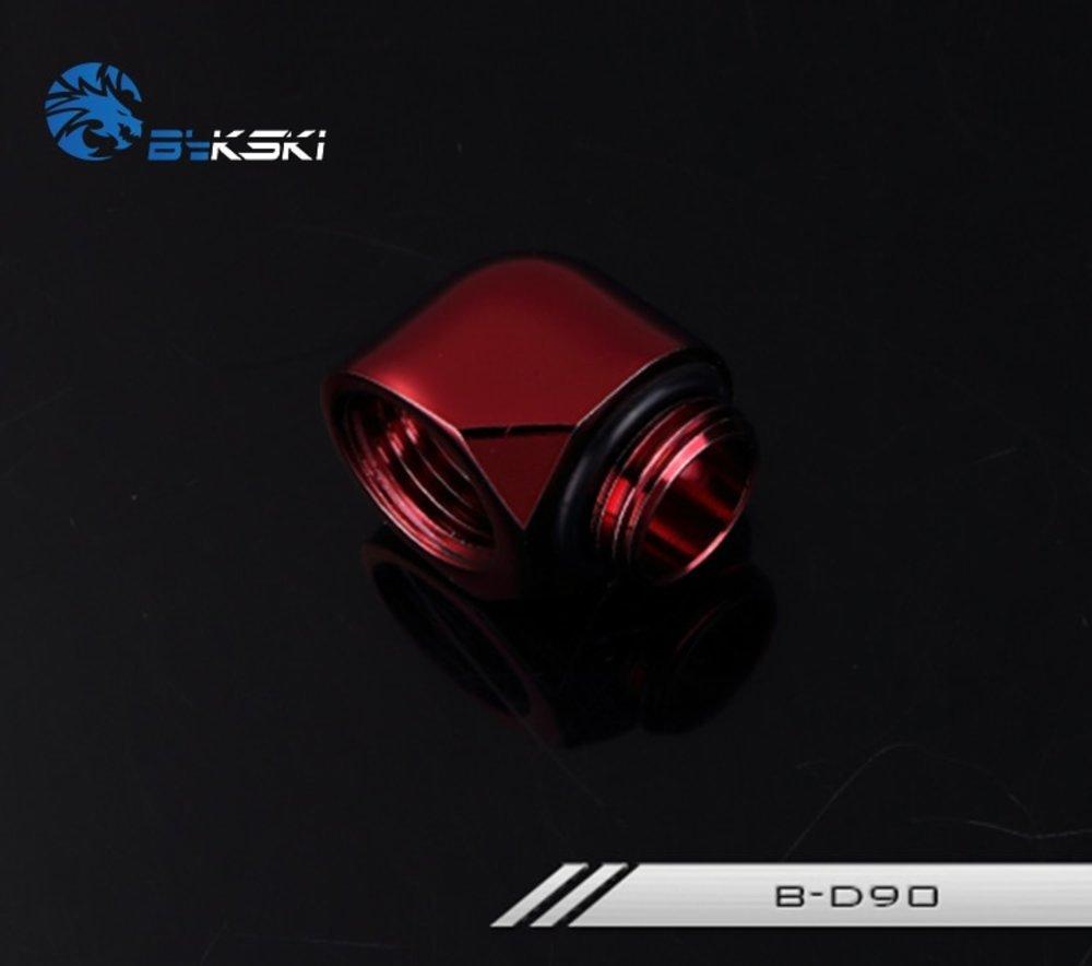 水冷最強 Bykski 90 Degree Elbow Fitting Connector Joint B-D90 送料無料_画像6