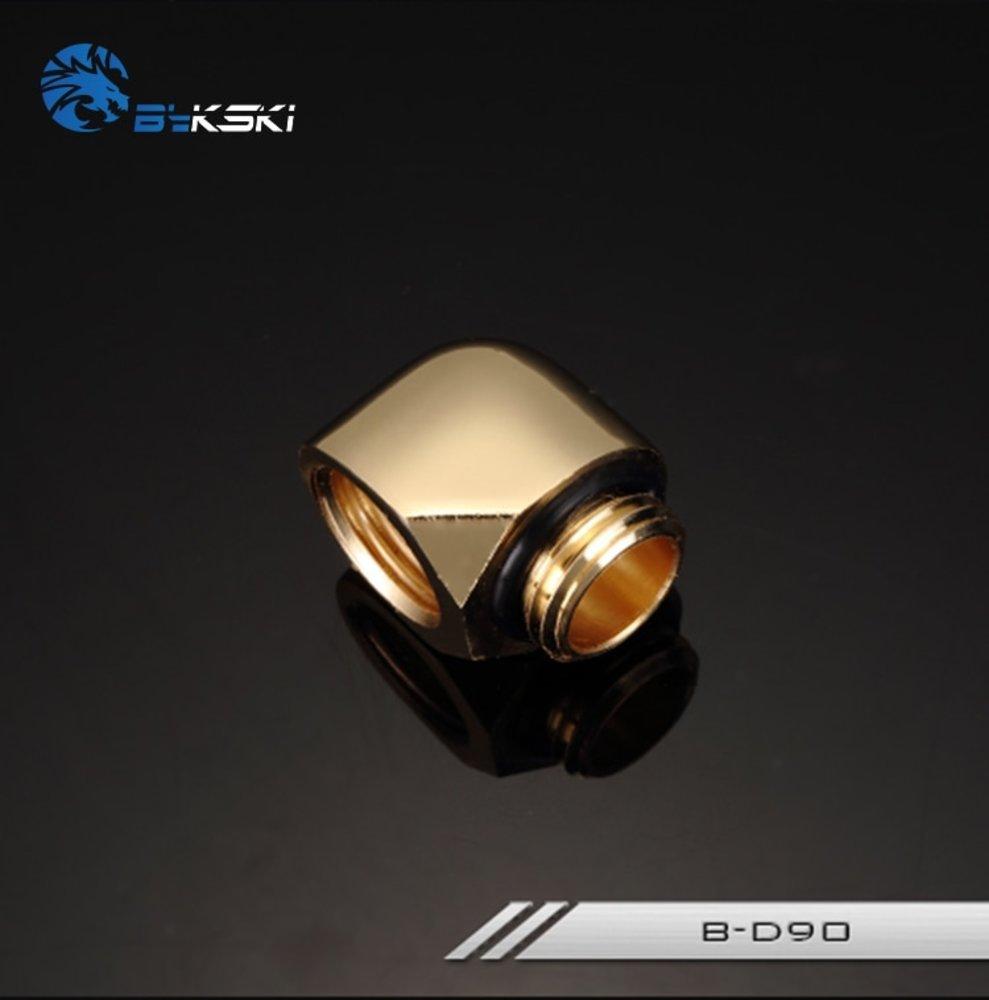 水冷最強 Bykski 90 Degree Elbow Fitting Connector Joint B-D90 送料無料_画像5