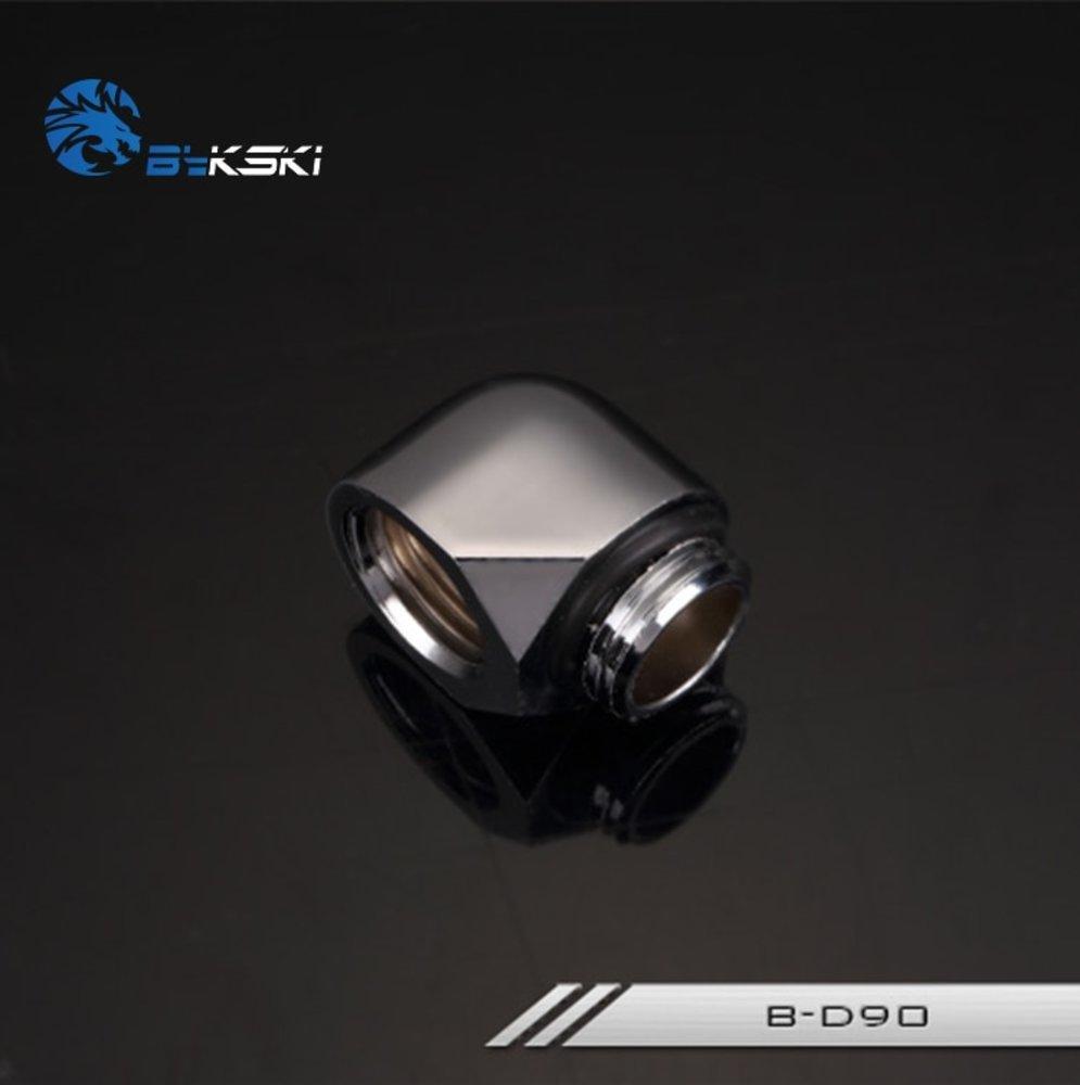 水冷最強 Bykski 90 Degree Elbow Fitting Connector Joint B-D90 送料無料_画像3
