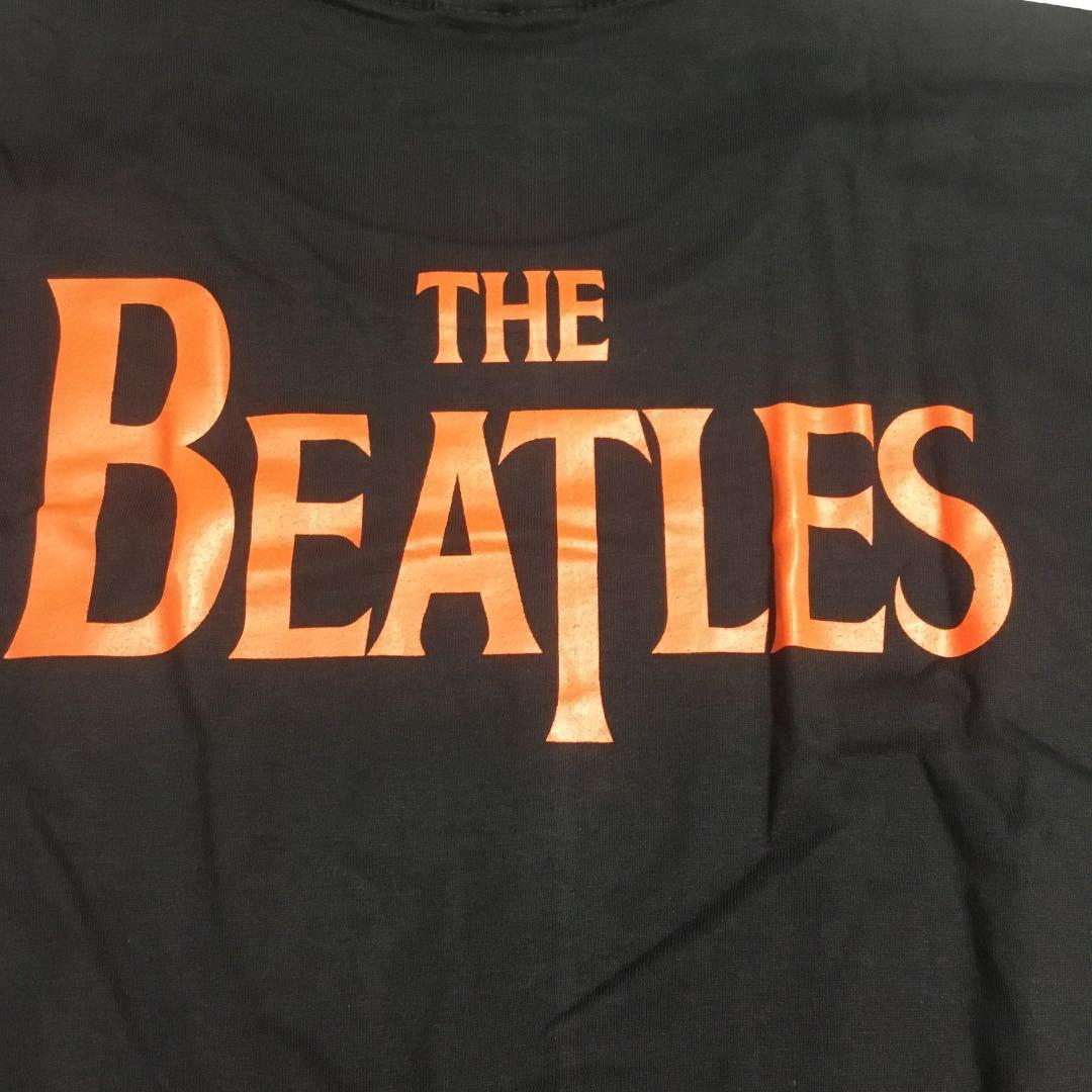 両面プリントバンドデザインTシャツ XLサイズ THE BEATLES ビートルズ ③ SR2C1