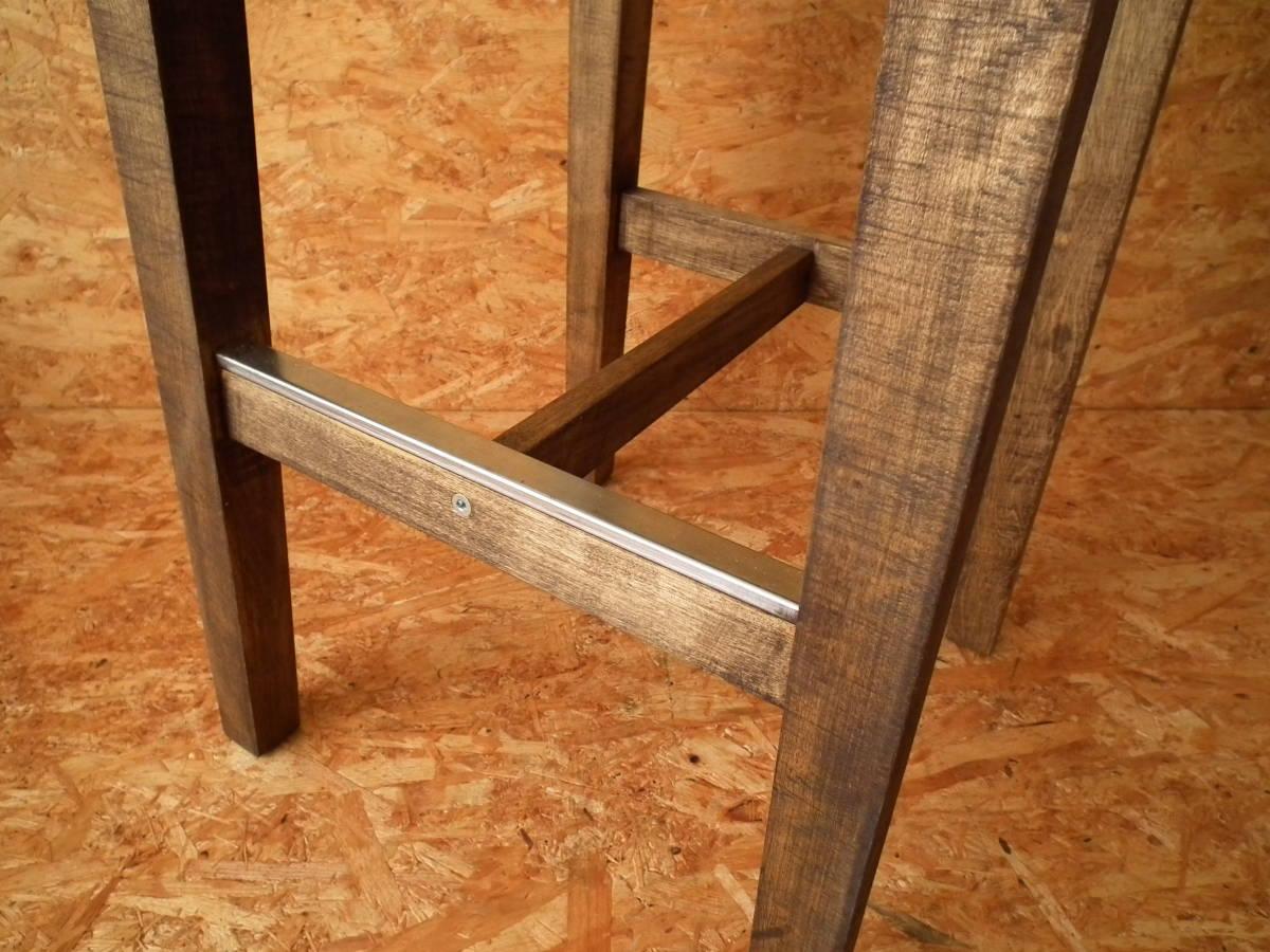 IKEA(イケア) BOSSE バースツール 高さ74㎝ (スツール ハイスツール バーチ無垢材 ワトコオイル カウンターチェア ハイチェア バーチェア)2_画像6