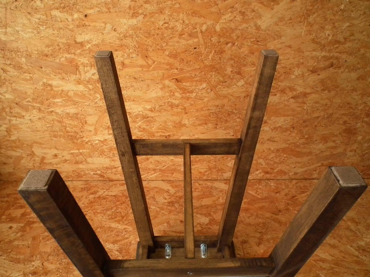 IKEA(イケア) BOSSE バースツール 高さ74㎝ (スツール ハイスツール バーチ無垢材 ワトコオイル カウンターチェア ハイチェア バーチェア)2_画像9
