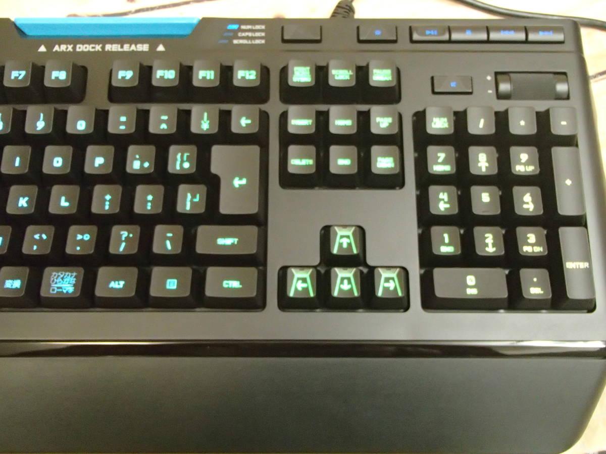 ■ロジクール Logicool G910 Orion Spectrum RGB Gaming Keyboard メカニカル ゲーミング キーボード■_画像4