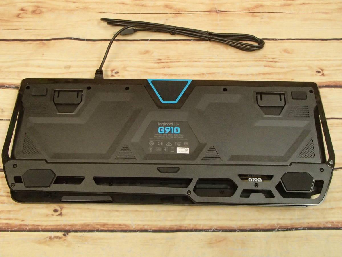 ■ロジクール Logicool G910 Orion Spectrum RGB Gaming Keyboard メカニカル ゲーミング キーボード■_画像7